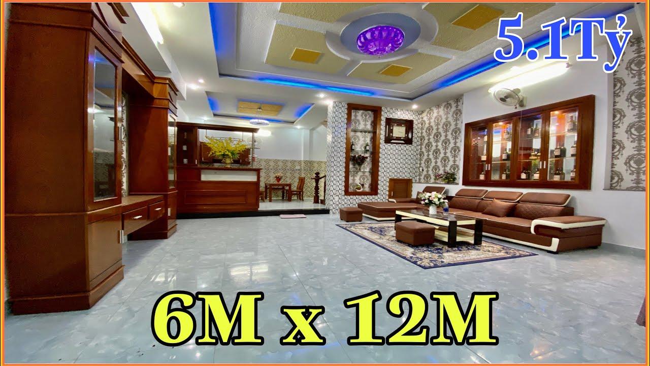 Bán nhà Gò Vấp   305] 6m x 12m nhà 3 lầu rất đẹp giá rẻ 5.18 tỷ tặng nội thất