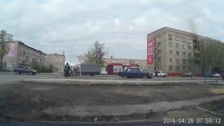 Карасук.пожар в общаге 26 04 16