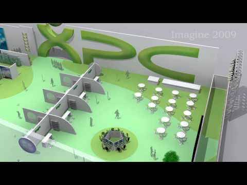 3ds Max Design of  Exposition Center - Pabellón XPc  Project