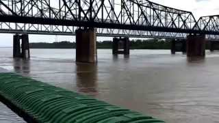 Vicksburg bridge high water and three strings