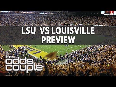 Citrus Bowl: LSU Tigers vs Louisville Cardinals Pick  The Odds Couple With Ross Benjamin