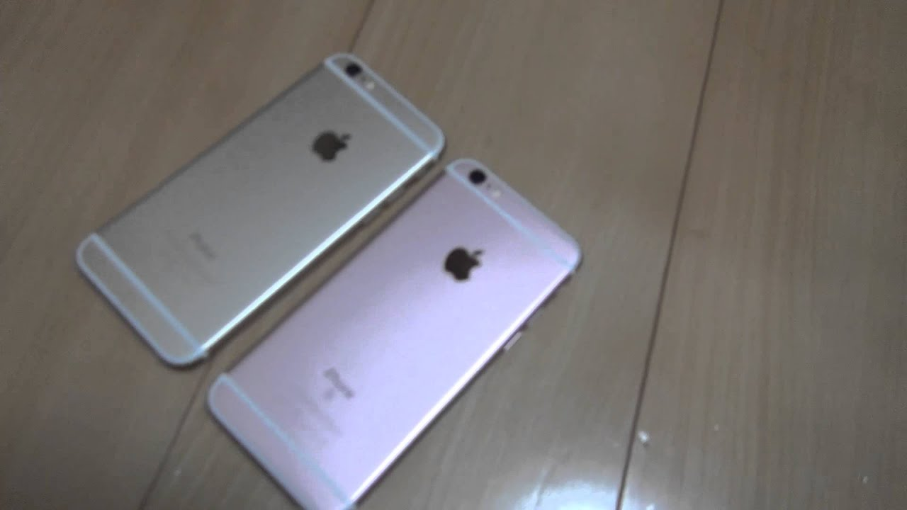 kiimilog iphone 6s rose gold 128gb iphone 6 gold 16gb youtube. Black Bedroom Furniture Sets. Home Design Ideas