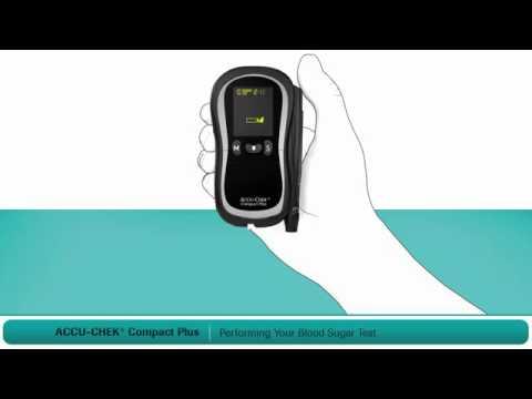 Hướng dẫn sử dụng máy đo đường huyết ACCU-CHEK Compact Plus