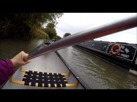Canoeing on the Kennet & Avon Canal in Devizes