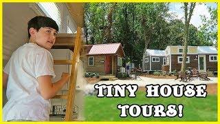 Worlds Largest Tiny House Hotel!