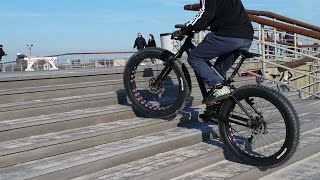 Fatbike fun on the Motobecane Fantom FB4 (Bikesdirect.com)