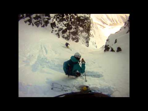 Forever Young Couloir - Rogers Pass.