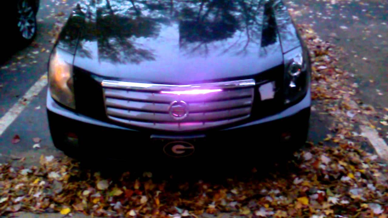 Night Rider light on the caddy - YouTube