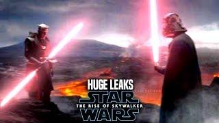 HUGE The Rise Of Skywalker Leaks Revealed! WARNING (Star Wars Episode 9)