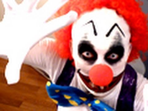 Clown diabolique i halloween maquillage youtube - Maquillage de clown facile ...