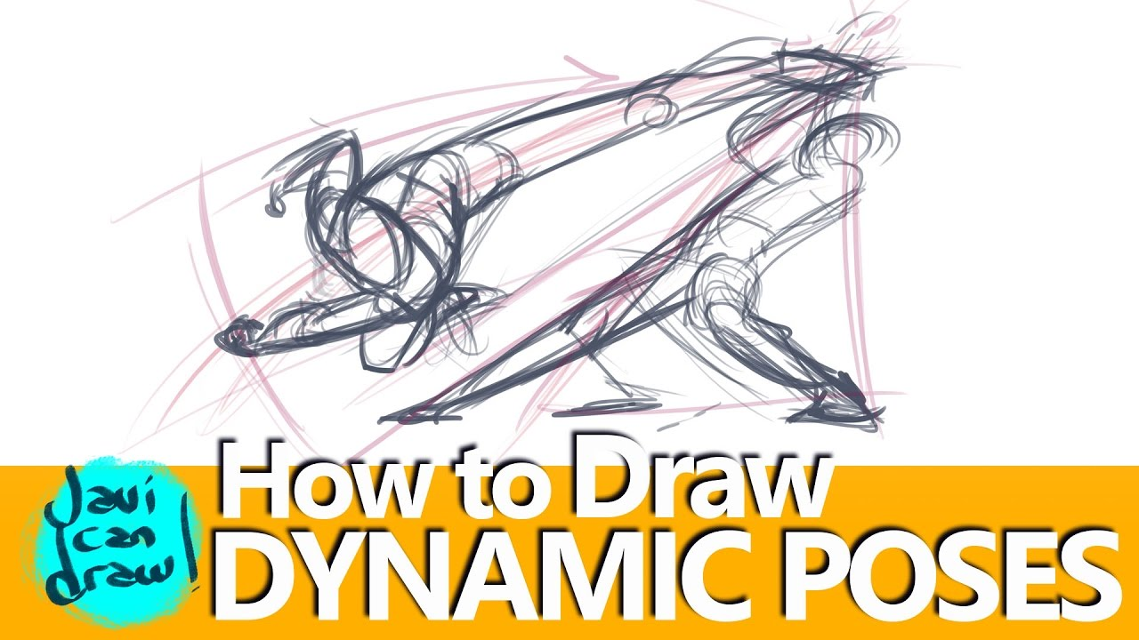 Is This The Secret For Drawing Action Poses Youtube
