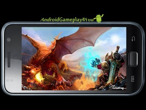Dragon Warcraft Free Android Game Gameplay [Game For Kids] - 동영상