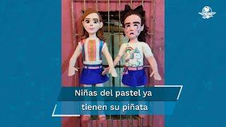 La niña María Eduarda se hizo viral luego de que su hermana apagara la velita de su pastel antes de que ella le soplara