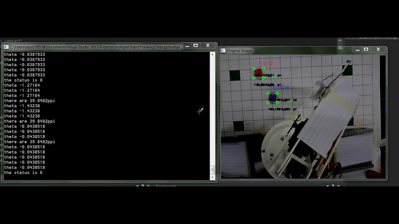 Opencv Robotic Arm Screen Capture Wiringpi Java Library