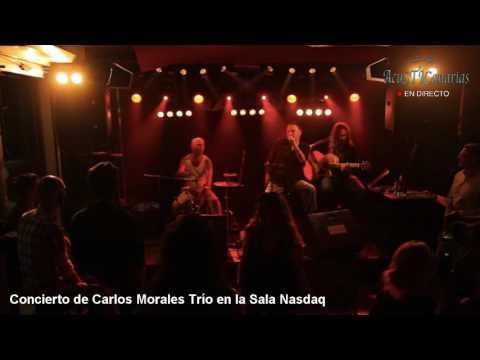 Concierto de Carlos Morales Trío en la Sala Nasdaq