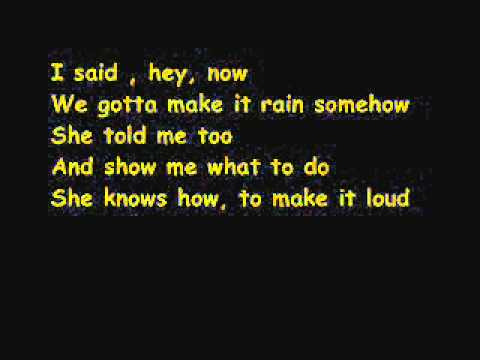 Red Hot Chili Peppers - The adventures of raindance Maggie with lyrics