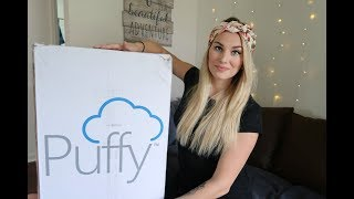 Sleeping On A Cloud!! Puffy Lux Mattress Unboxing!