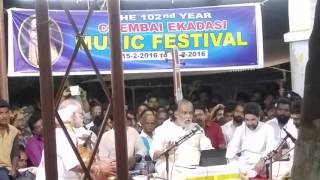 Carnatic Music, CHEMBAI Music Festival Padmasree Dr. KJ Yesudas