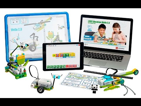 Lego Wedo 2 0 Robotics Kit For Education Youtube