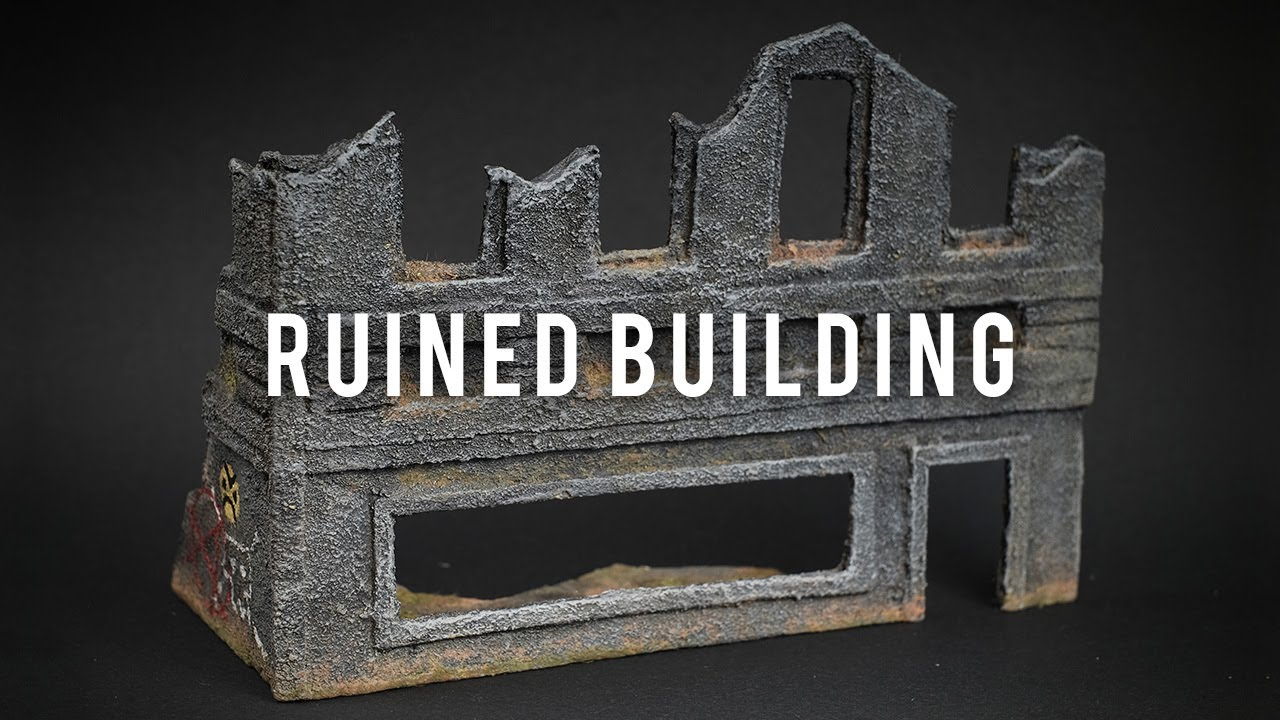 Ruined Building - Miscast Terrain - S01E02