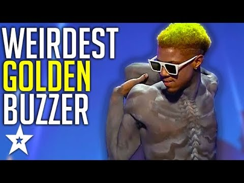 Creepy Contortionist Gets GOLDEN BUZZER On Romania's Got Talent! | Got Talent Global