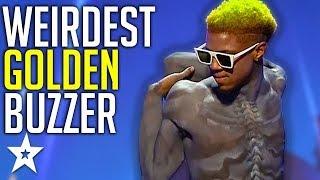 Creepy Contortionist Gets GOLDEN BUZZER On Romania's Got Talent! | Got Talent Global