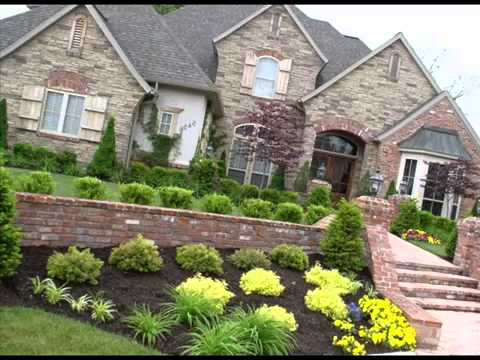 front garden landscaping ideas i front yard landscaping ldeas on a budget youtube. Black Bedroom Furniture Sets. Home Design Ideas