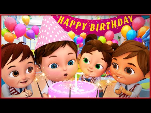 【漫画】お誕生日おめでとう - 生活習慣の歌 童謡と子供の歌 - ユーチューブの最も見られているビデオ- 人気がある童謡コレクション  - 子どもの歌 - 童謡 ナナ漫画 日本バナナ漫画