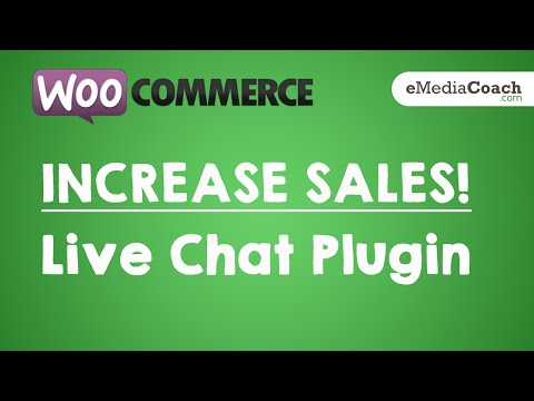 WordPress WooCommerce - INCREASE SALES - Add Live Chat To Your ECommerce Website (Zopim)