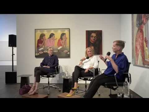 'Women in the Arts' – Siri Hustvedt, Katharina Grosse, Nicola Graef at me Collectors Room Berlin