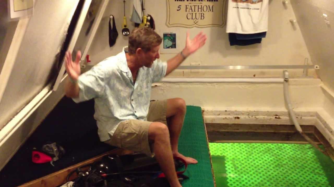 Jules Underwater Lodge In Key Largo Youtube