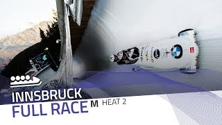 Innsbruck | BMW IBSF World Cup 2019/2020 - 4-Man Bobsleigh Heat 2 | IBSF Official