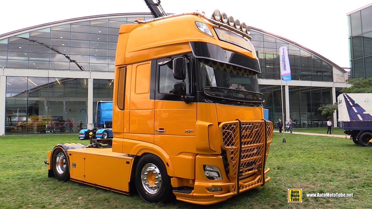 2020 DAF XF 530 Custom Truck Walkaround - Yellow Exterior