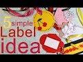 5 Simple Tag Idea - Gift DIY - Label Jar & Bottle Crafts - Etykiety na butelkę - słoik 62