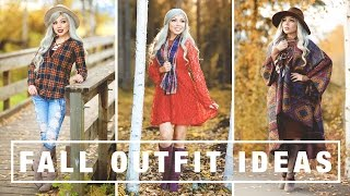 FALL OUTFIT IDEAS! | Charisma Star