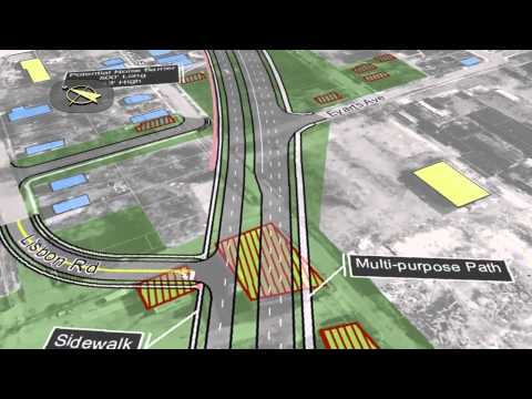 Cleveland Opportunity Corridor Aerial Animation
