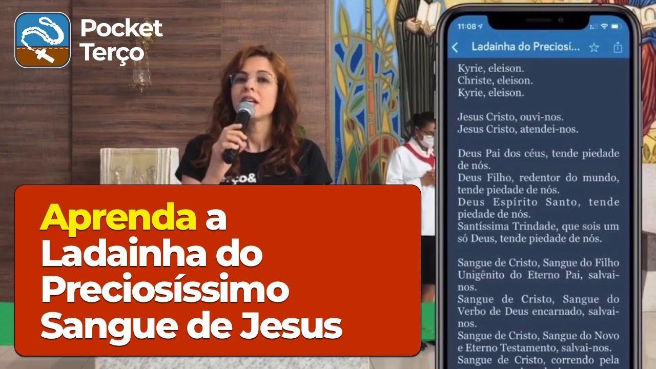 Ladainha do Preciosíssimo Sangue de Jesus (Cantada)