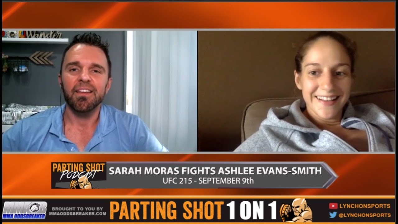 UFC 215's Sarah Moras talks Ashlee Evans-Smith, UFC Retreat and working for Canada Post