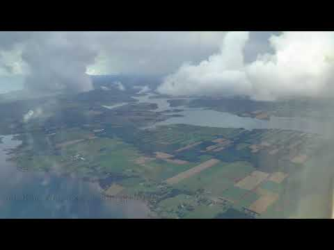 Scenic Approach and Landing in Charlottetown, PEI