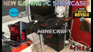 New Gaming PC Showcase + Game Test Footage
