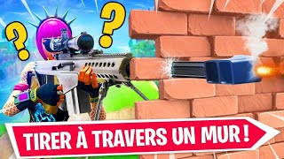 Glitch! TIRER TO TRAVERS CONSTRUCTIONS ON FORTNITE! SAISON9😱