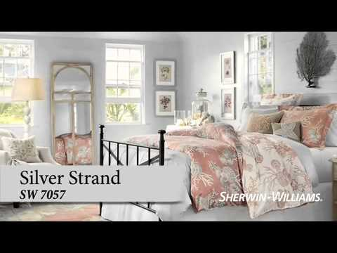 Bedroom Color Ideas - Sherwin-Williams & Pottery Barn