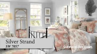 Bedroom Color Ideas - Sherwin-Williams & Pottery Barn
