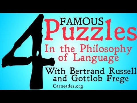 Four Famous Puzzles in the Philosophy of Language