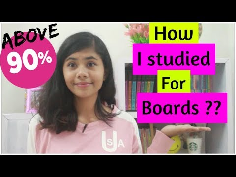 90% ABOVE IN BOARD EXAMS ? TIPS FOR CBSE BOARDS STUDENTS