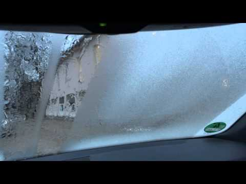 Windscreen heating live demo - Skoda Octiavia RS