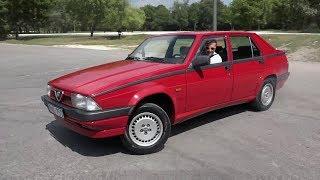 Alfa Romeo 75 2.0TS (1991) teszt
