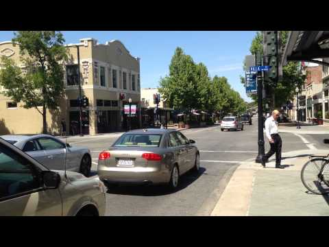 The Main Street of Palo Alto California USA - part 01