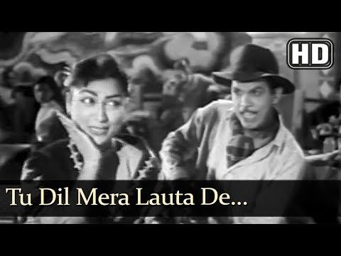 Tu Dil Mera Lauta De (HD) - Mai Baap Song - Johnny Walker - Minoo Mumtaz - Evergreen Songs