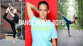 All Boys From Dance Moms Ranked 21 1 Youtube